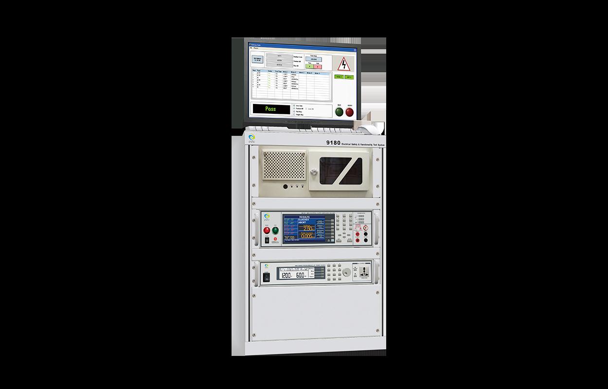 9180 電氣安規及運轉特性自動化測試系統