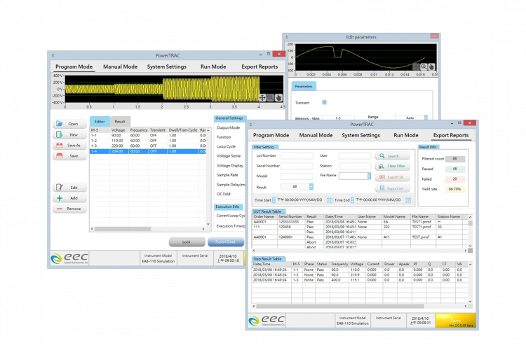 powerTRAC software
